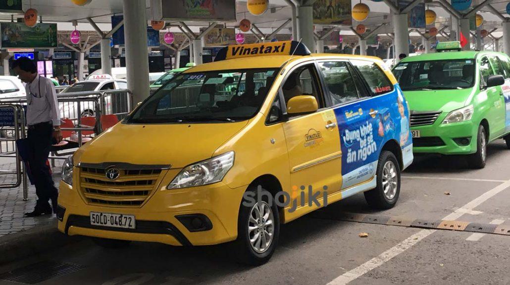 Quảng cáo taxi tràn cửa sau + đuôi xe
