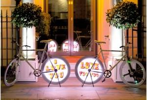 Electro Bike (Kino-mo display) trang trí tại shop