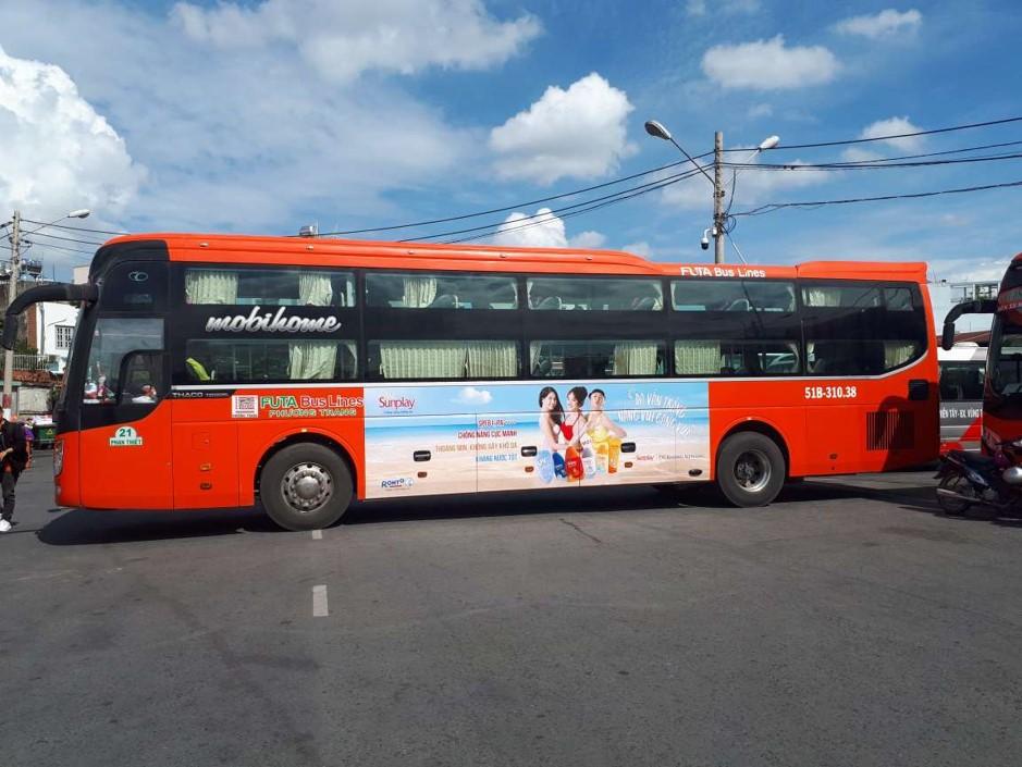 quảng cáo xe khách