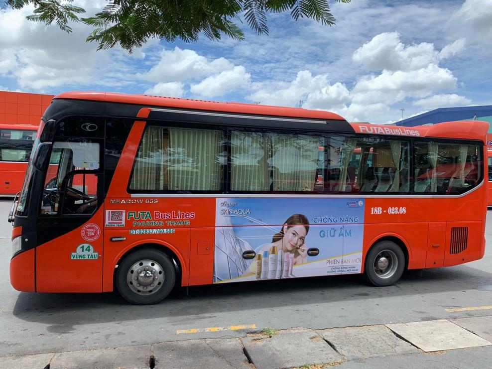 quảng cáo trên Phương Trang