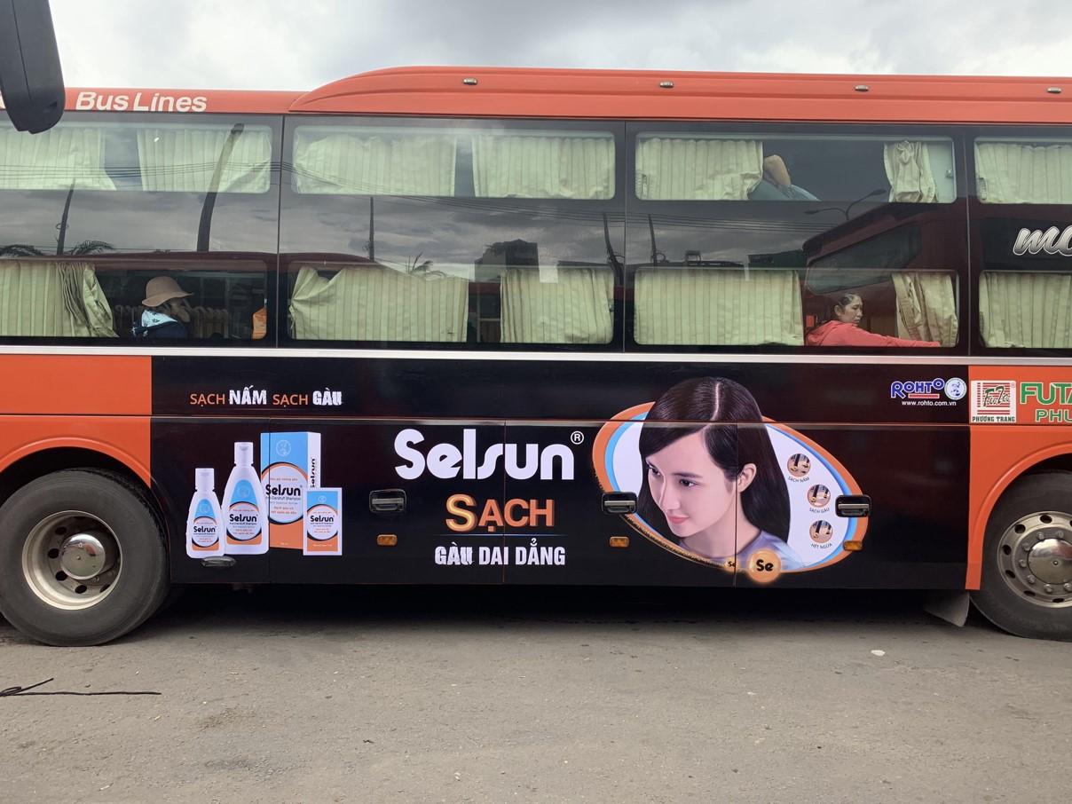 quảng cáo xe khách Phương Trang