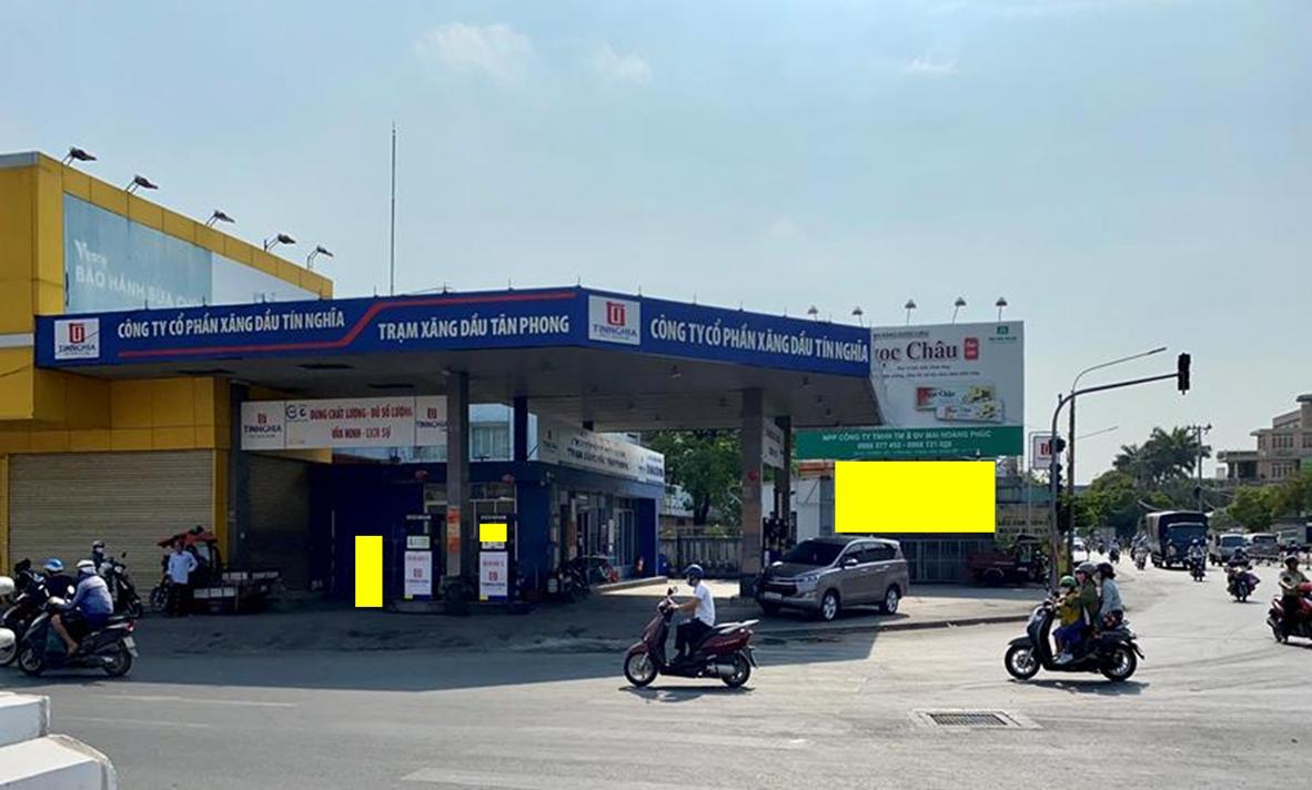 Quảng cáo trạm xăng