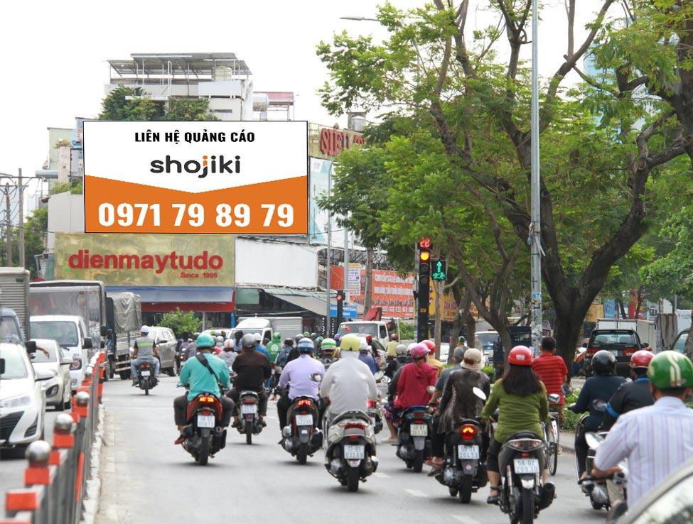 bảng quảng cáo điện máy Tự Do