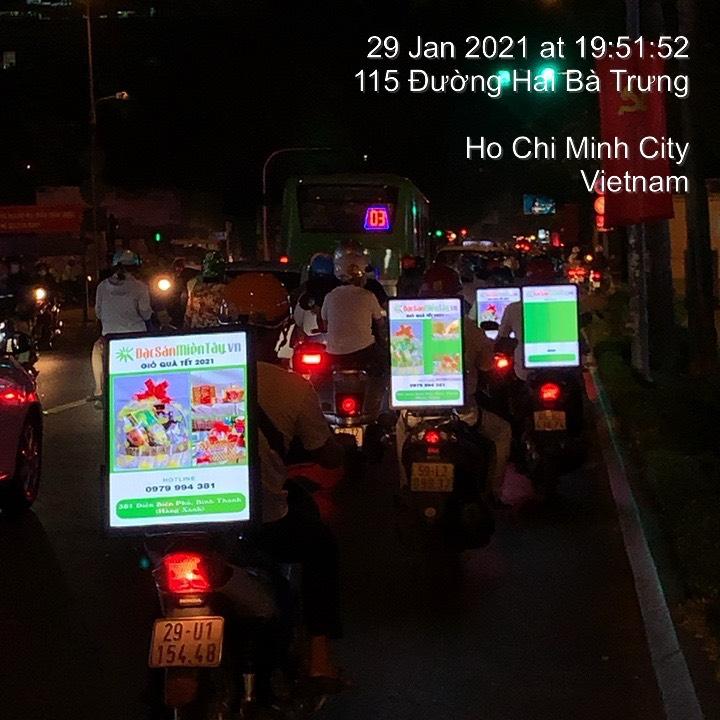 LED Roadshow xe máy