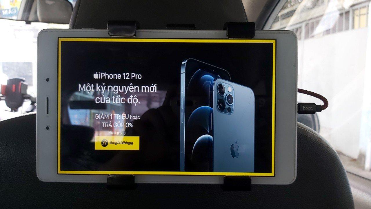 quảng cáo tablet taxi