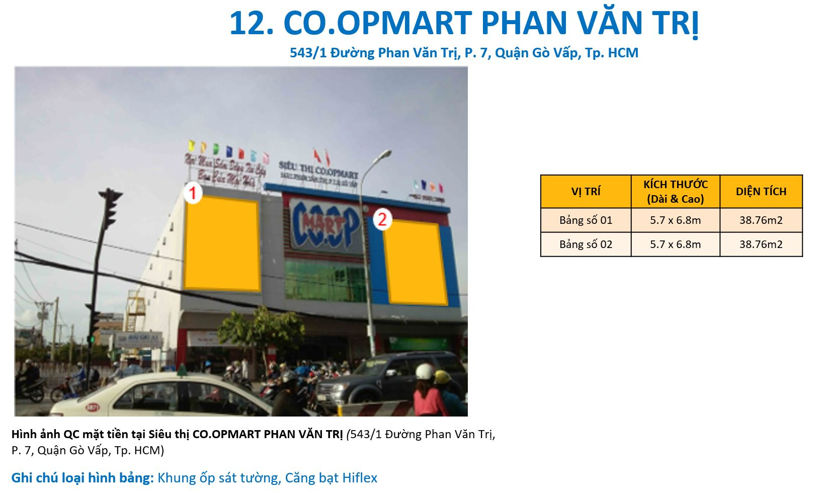 quảng cáo siêu thị Coopmart