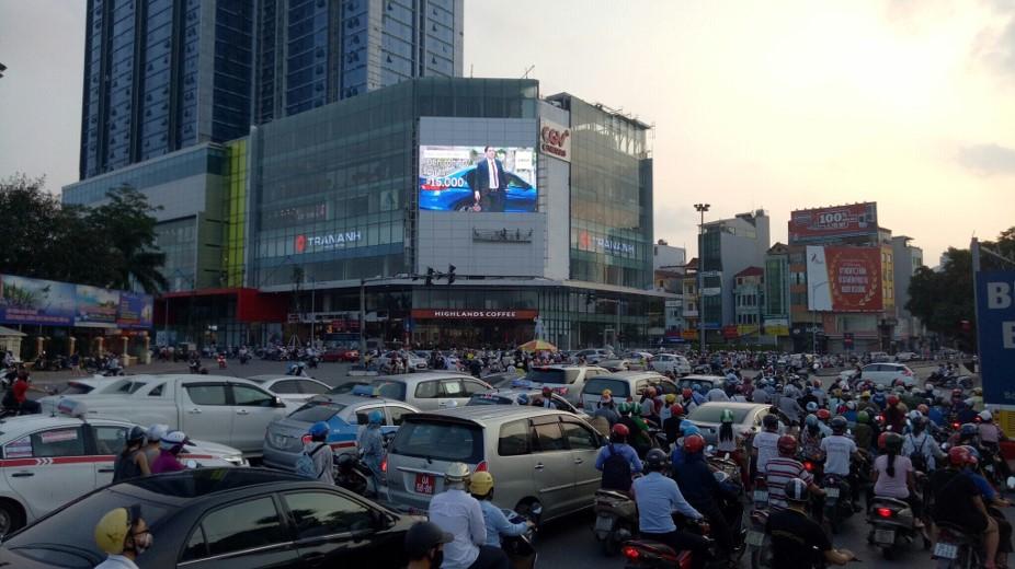quảng cáo màn hình led ngoài trời Hà Nội