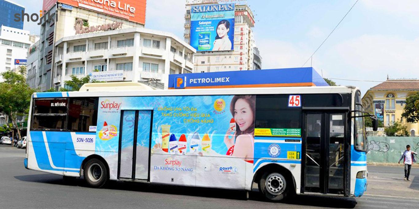 quảng cáo xe buýt hồ chí minh