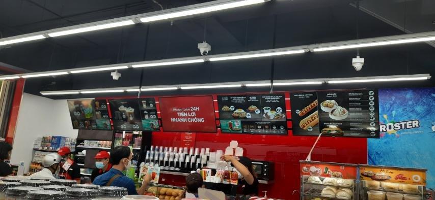 ưu điểm của quảng cáo trong cửa hàng
