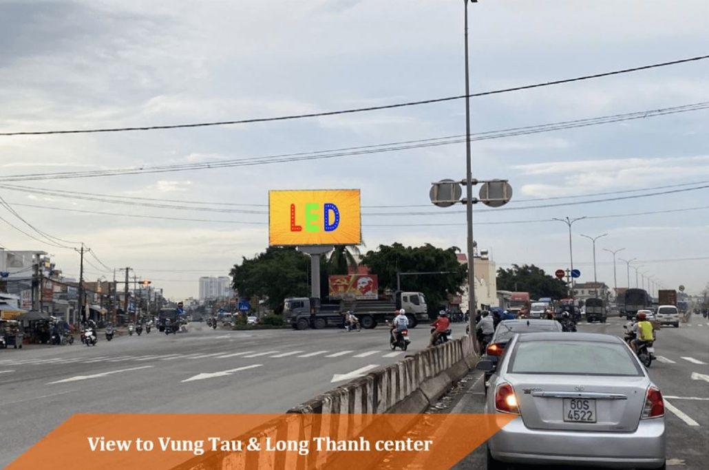 quảng cáo LED Long Thành, quốc lộ 51, Đồng Nai