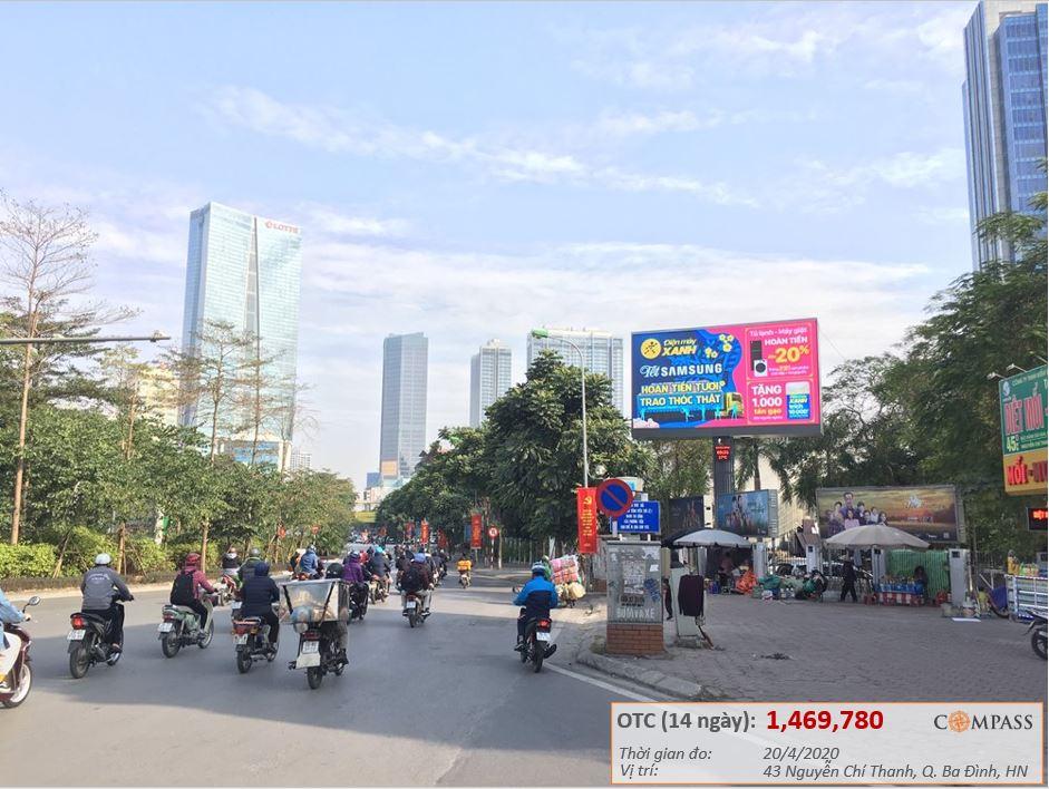 Quảng cáo LED ngoài trời tại VTV Hà Nội