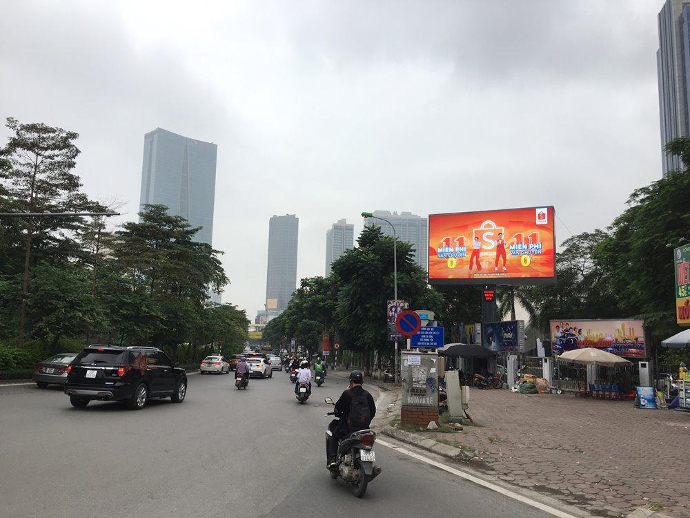 Quảng cáo LED ngoài trời 43 Nguyễn Chí Thanh