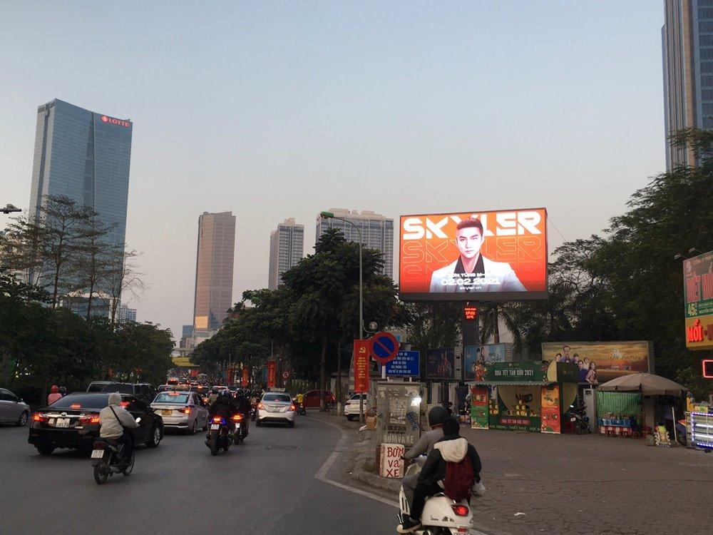 Quảng cáo LED ngoài trời 43 Nguyễn Chí Thanh, hà Nội