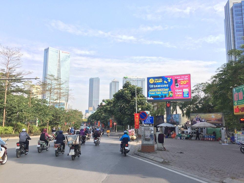 Quảng cáo LED ngoài trời VTV 43 Nguyễn Chí Thanh