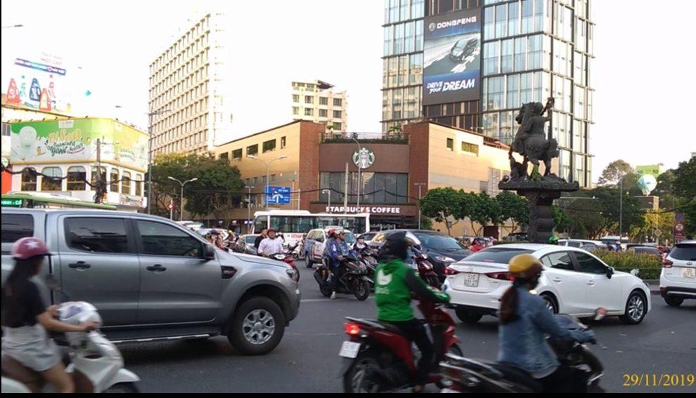 Quảng cáo LED ngoài trời tại tòa nhà AB, 76 Lê Lai