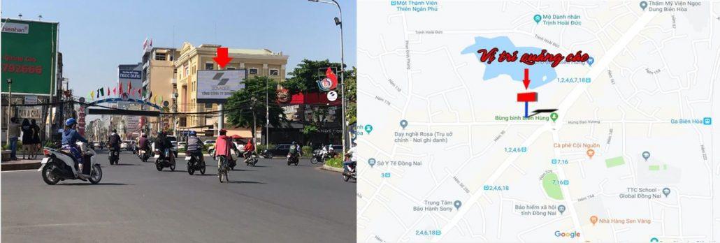 vị trí màn hình led vòng xoay Biên Hùng, Đồng Nai