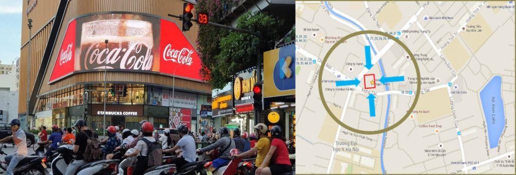 vị trí màn hình led 02 Phạm Ngọc Thạch