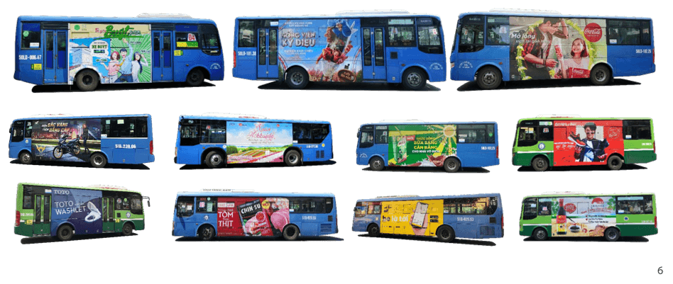 quảng cáo phương tiện di chuyển