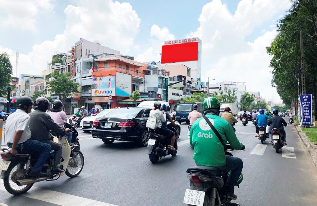 Bảng quảng cáo 132-134 Lý Thái Tổ, quận 3, Hồ Chí Minh