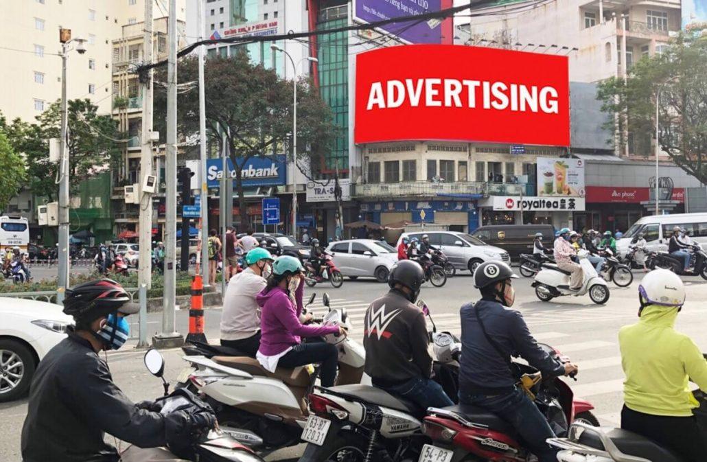 Bảng quảng cáo 36 Nguyễn Thị Nghĩa, Quận 1, HCM