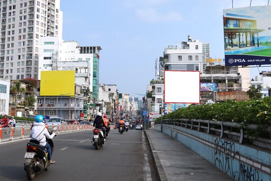Bảng quảng cáo 489 Hai Bà Trưng, quận 3, Hồ Chí Minh