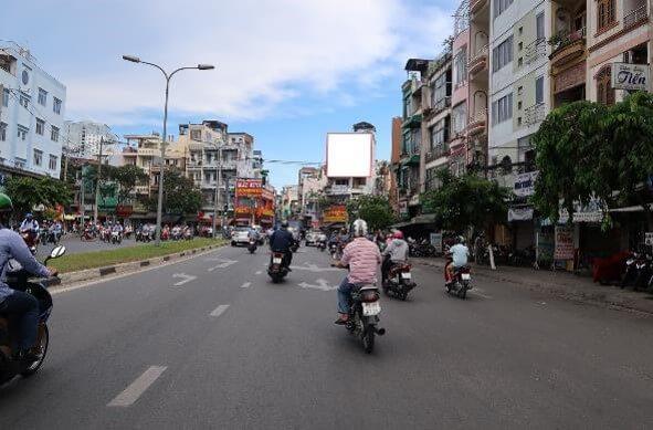 Bảng quảng cáo Hoàng Diệu, quận 4, Hồ Chí Minh