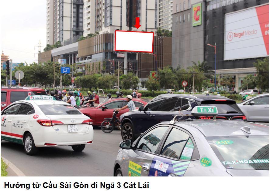 Bảng quảng cáo tòa nhà Cantavil, quận 2, Hồ Chí Minh